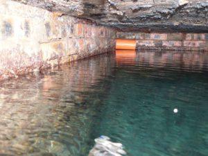 A ciszterna kiváló megoldás az esővíz összegyűjtésére.